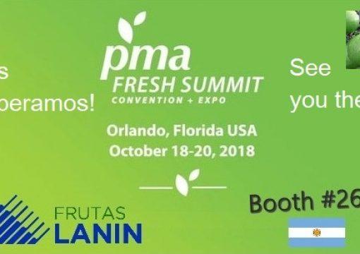 Los esperamos PMA Fresh Summint 2018
