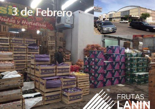 Frutas Lanin en el Mercado de 3 De Febrero – Provincia de Buenos Aires