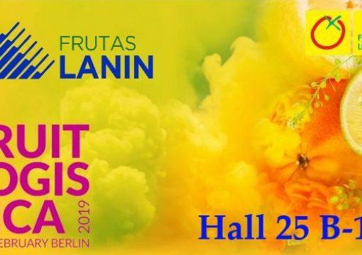 Los esperamos en Fruit Logistica Berlin 2019